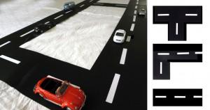 Circuito por el salón / Driving route / Strassen