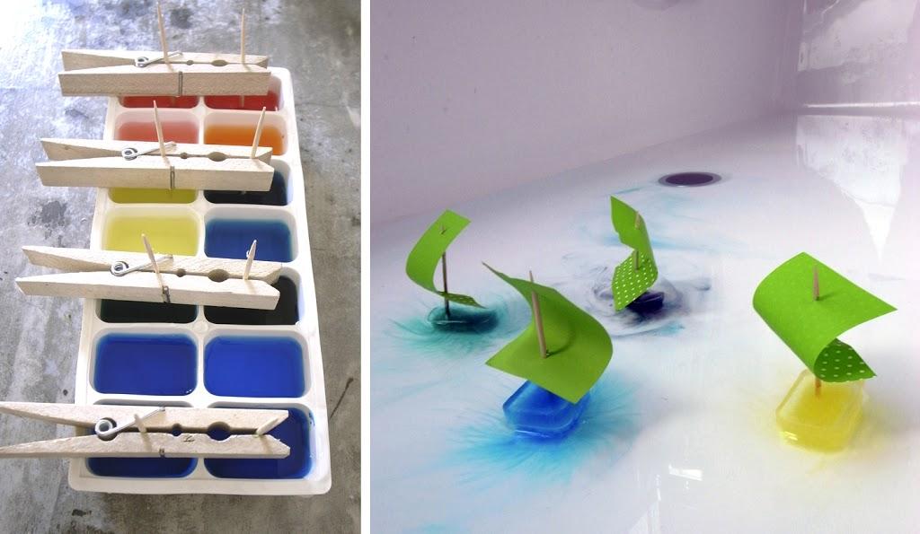 Barcos de hielo / Ice- Boats / Eisboote