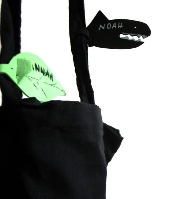 Colgante de bolsa / Tag bag / Taschenanhänger