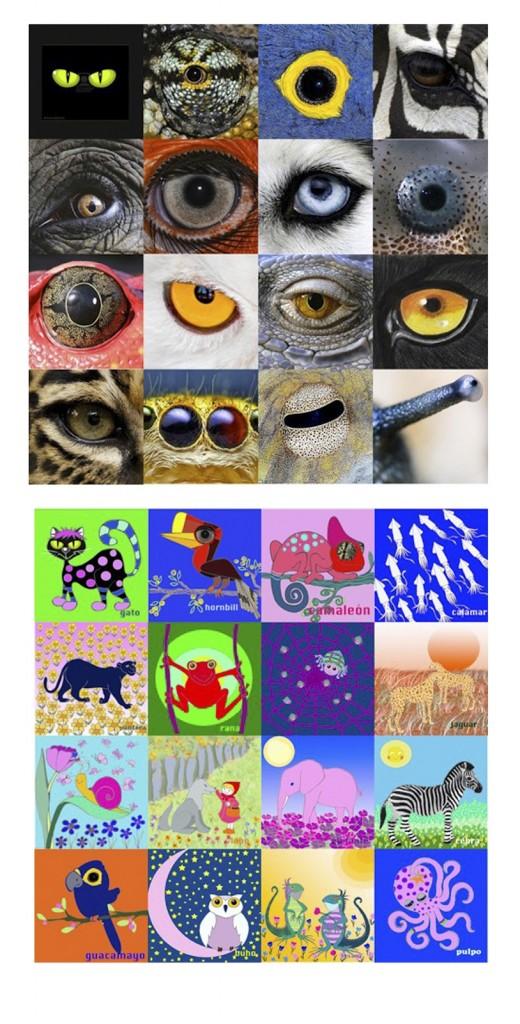 Ojos / Eyes / Augen