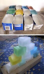 Bloques de hielo / Ice blocks / Eisblocks