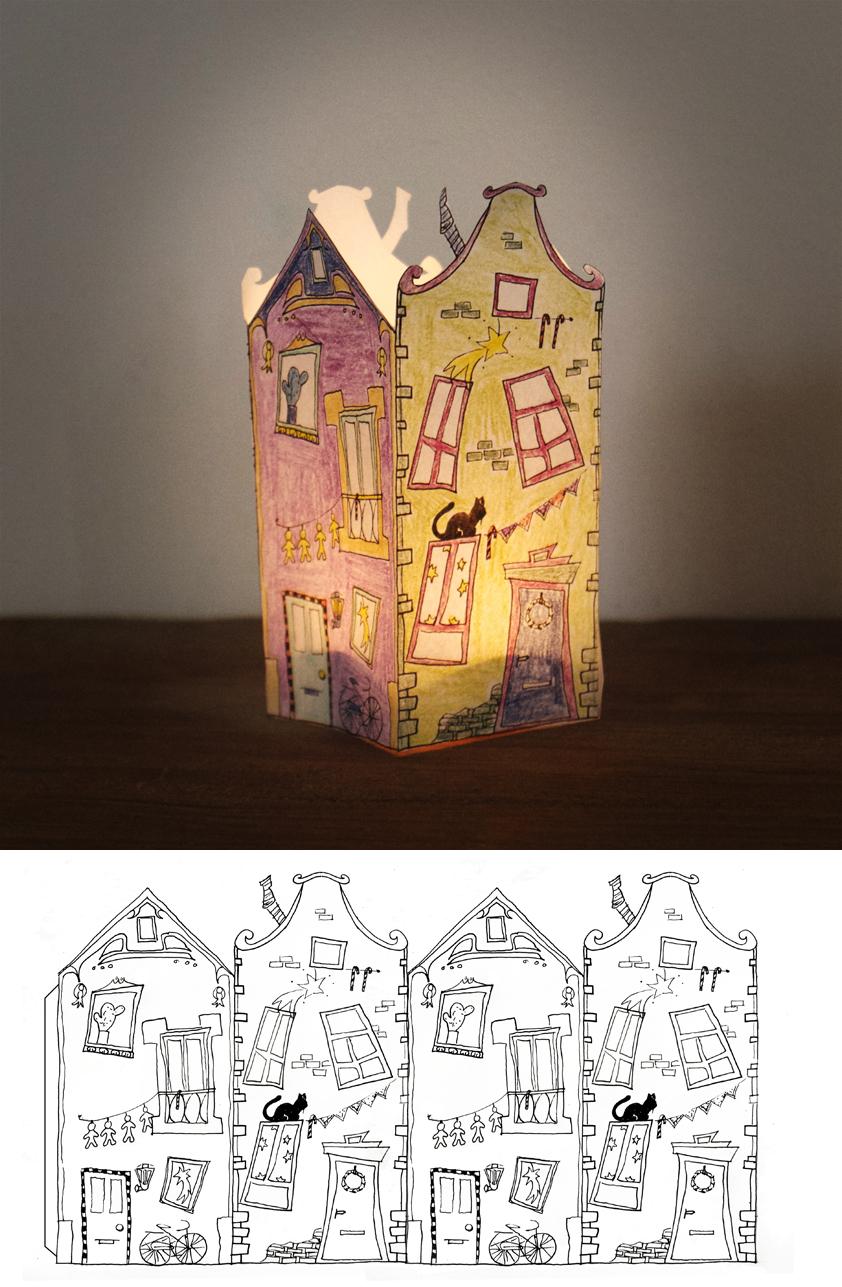 little house casita kleines h uschen el hada de papel. Black Bedroom Furniture Sets. Home Design Ideas