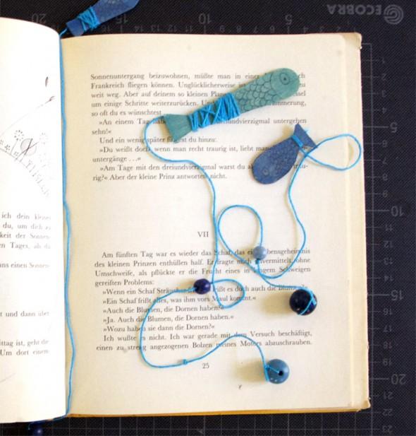 Separador de libros / Bookmark / Lesezeichen