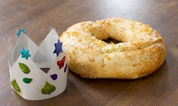 Roscón de reyes / King Cake /  Dreikönigskuchen