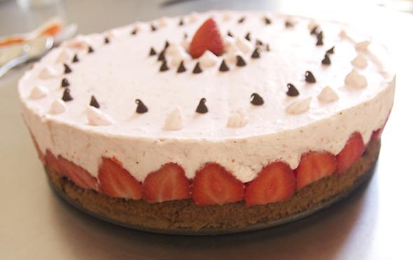 Tarta de fresa / Strawberry cake / Erdbeertorte
