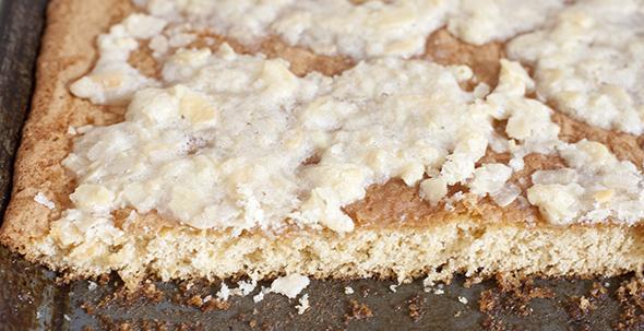 Coca de Horchata / Horchata cake / Horchata Kuchen