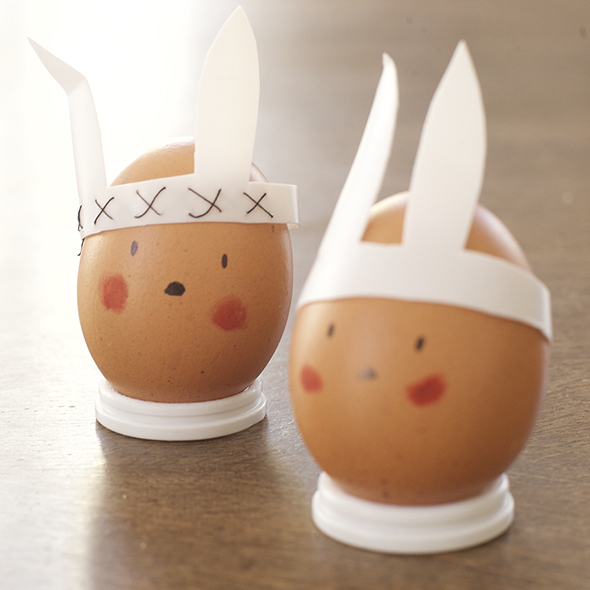 1huevos eier eggs decoration dekoration decoracion pascua ostern eastern easy einfach reciclar recycling