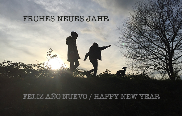 Feliz Año Nuevo / Happy New Year / Frohes Neues Jahr