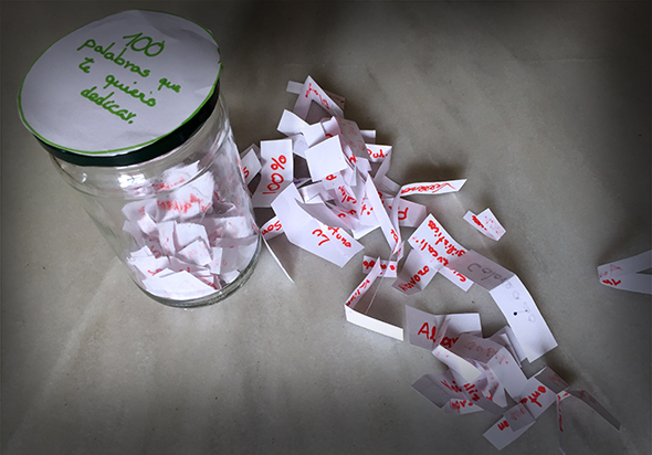 regalo reyes geschenk present words palabras wörter