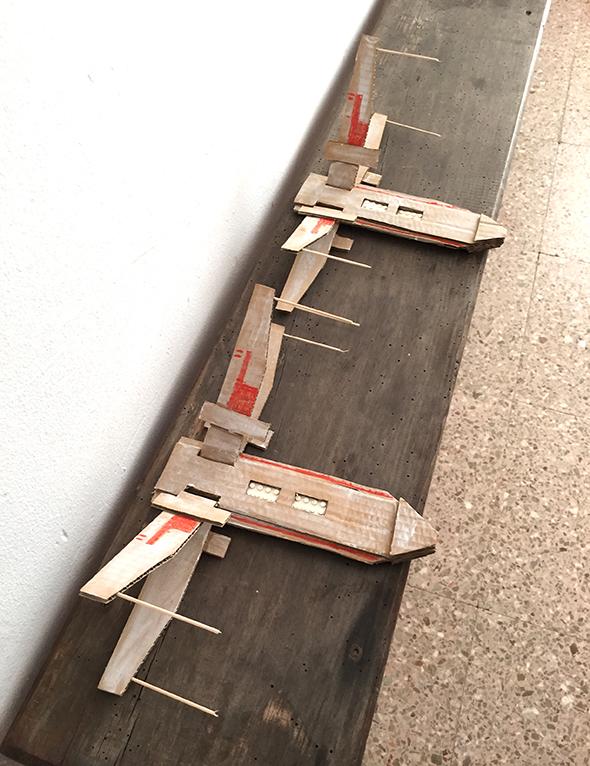 x wing starwars x ala carton karton cardboard nave lego spaceshuttle raumschiff basteln manualidad craft kid kinder niños kid