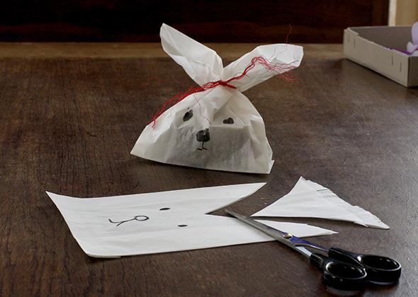 hasentüte  bolsa papel conejo bunny paperbag