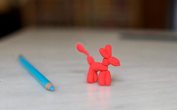 hund globo perro fun dog balloon brosche anstecker selber machen diy
