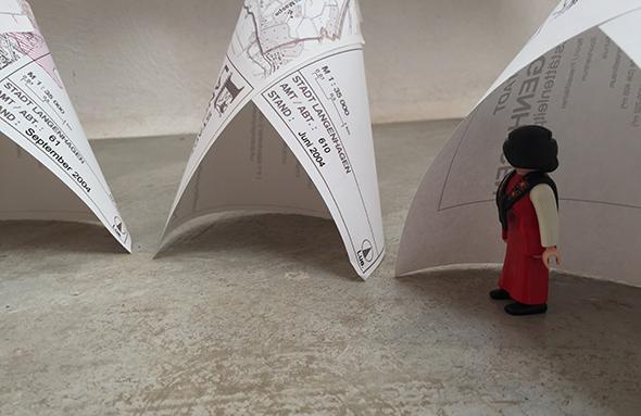 tipi paper tent papel tienda papier zelt miniatur playmobil easiest craft facil einfach basteln