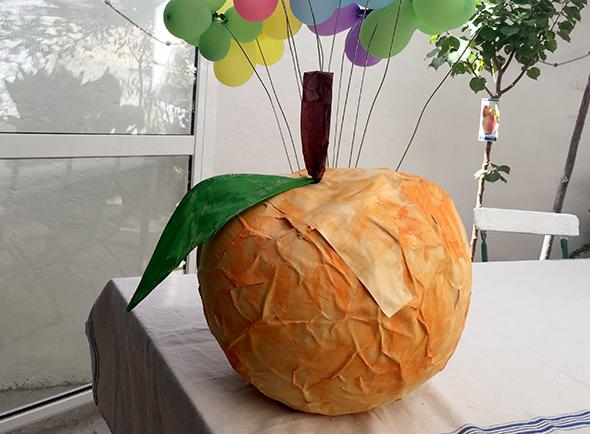 piñata birthday kindergeburtstag cumpleaños diy craft basteln manualidad fun spass