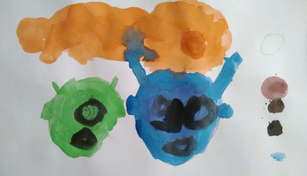 ferran-drawing-halloween-5-jahre-years-anos-years-painting