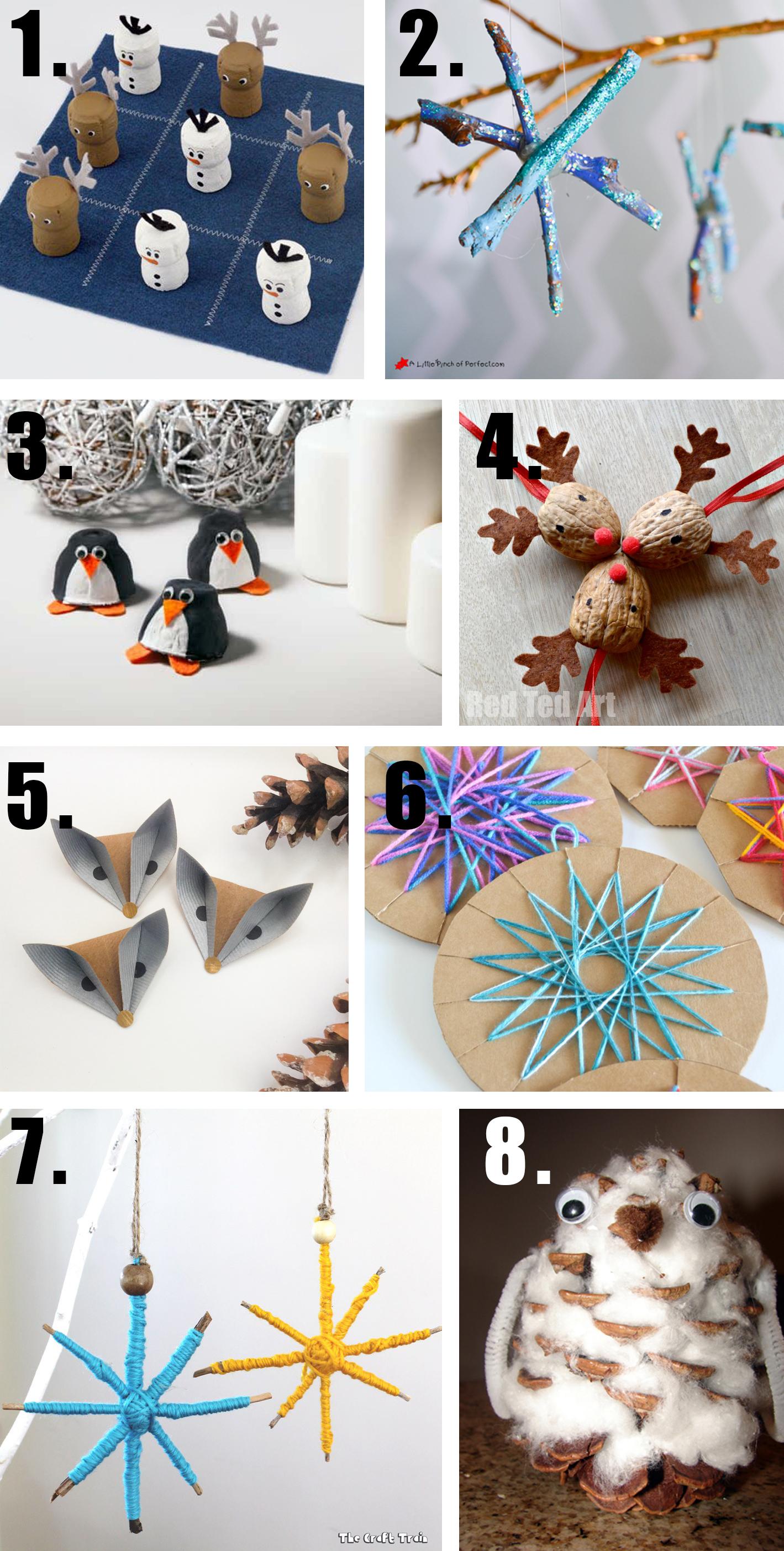 Mejores manualidades Navidad / Best Christmas crafts / Die besten Weihnachtsbasteleien