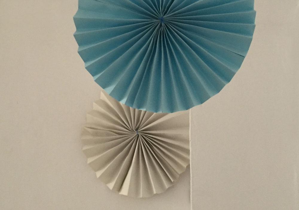 Rosetón de papel / Paper Rosette / Papierrosette