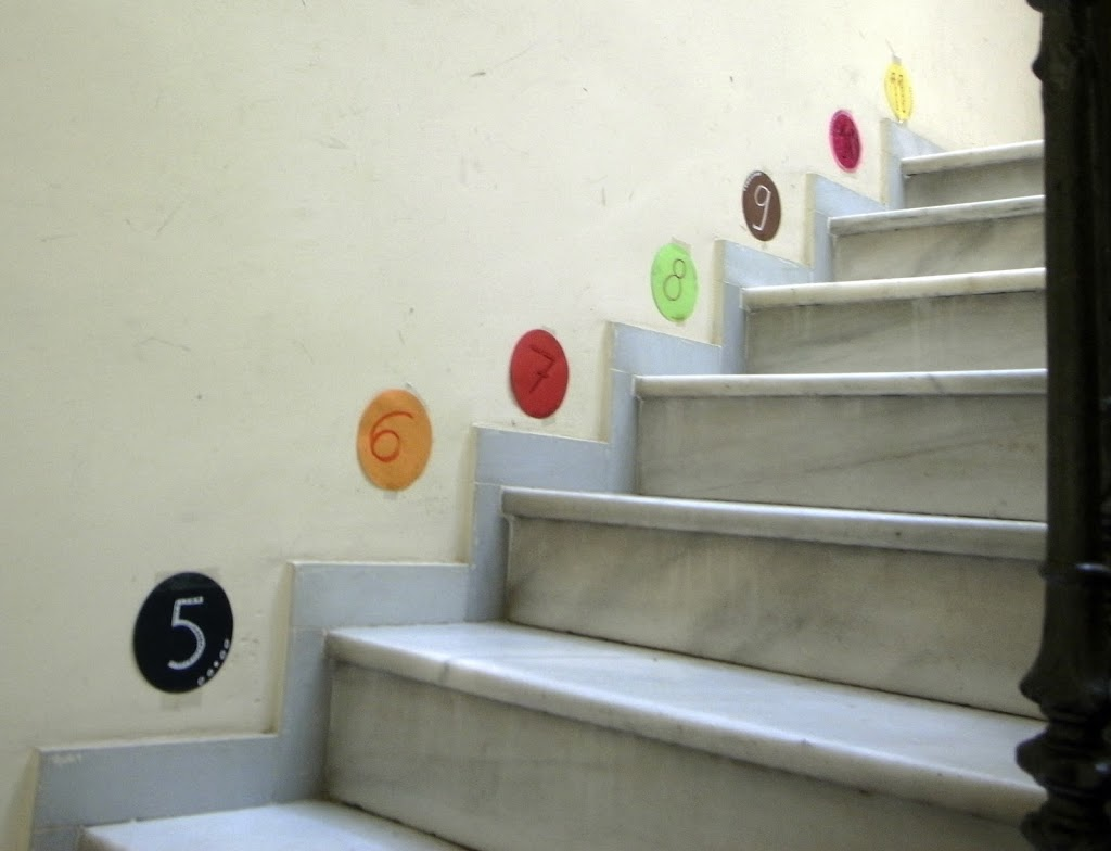 escalera treppe stairs aprender learn lernen craft basteln manualidad kids kinder children ninos