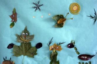 craft basteln manualidad kids kinder children ninos autumn herbst