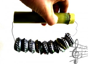 Maraca especial / Special rattle / Besondere Rassel