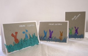 Carta de conejo / Rabbit card / Hasen Karte
