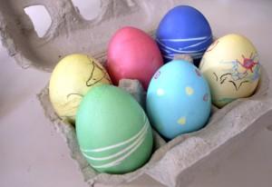 Mehr Eier / Más huevos / More eggs