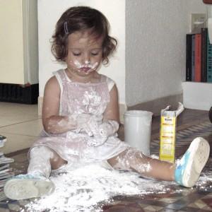 Solo con harina / Just with flour / Nur mit Mehl