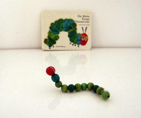 Oruga hambrienta / Hungry caterpillar / Raupe Nimmersatt