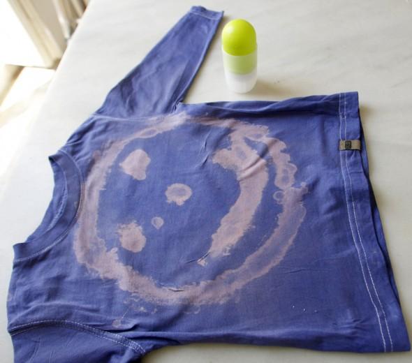 lejia bleach bleichmittel kinder niños kids painting malen pintar shirt camisa