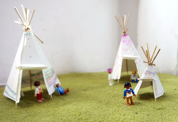 Zelte / Tiendas / Tents