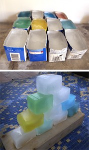 Ice blocks / Bloques de hielo / Eisblocks