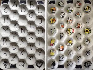 Alfabeto / Alphabet / Alphabet