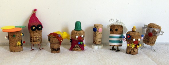 corchos locos verrückte Korken crazy corks kids niños kinder recilar recycling