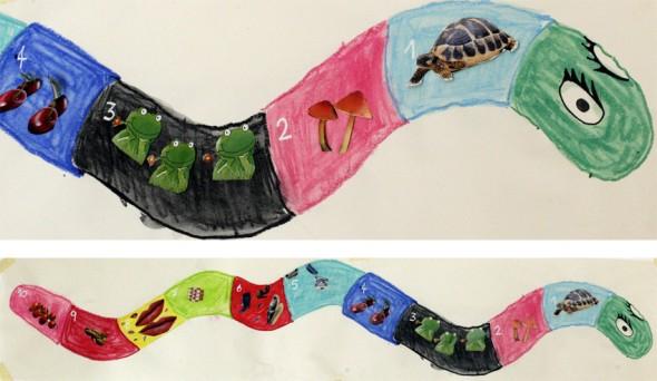 serpiente schlange snake aprender numeros learn numbers nummern lernen kinder kids niños
