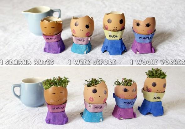 Cabeza huevo 02 / Eggheads 02 / Eierköpfe 02