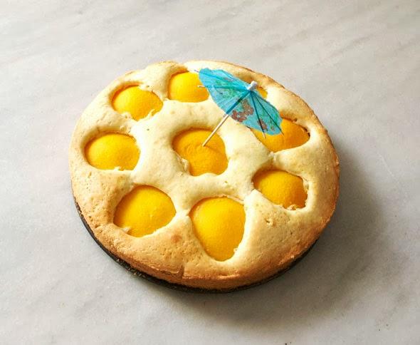 Tarta de Islas / Island cake / Insel Kuchen