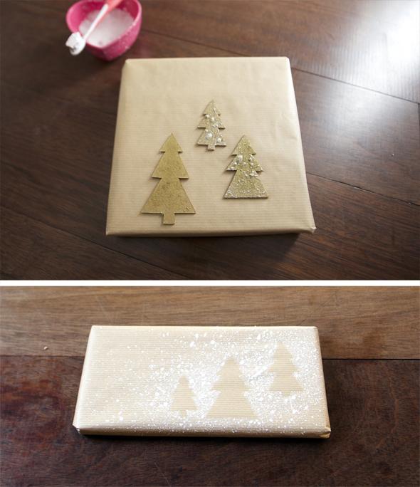 easy packaging present christmas einfach Verpackung Geschenk Weihnachten embalaje fácil regalo de navidad