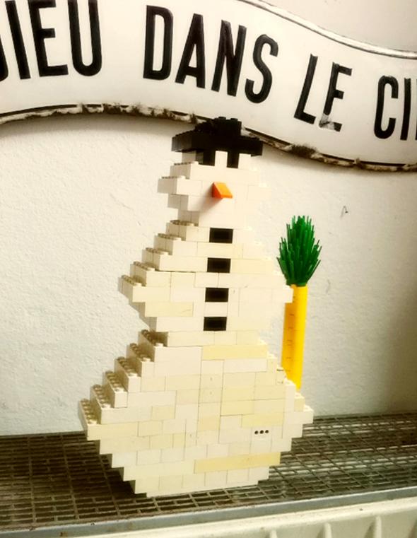 Muñeco de nieve / Snowman / Schneemann