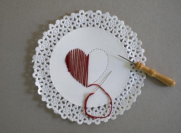 Stitching card / Tarjeta de costura / Nähkarte