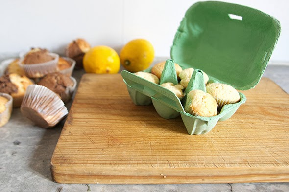 Mini Madalenas / Mini Cupcakes / Mini Muffins