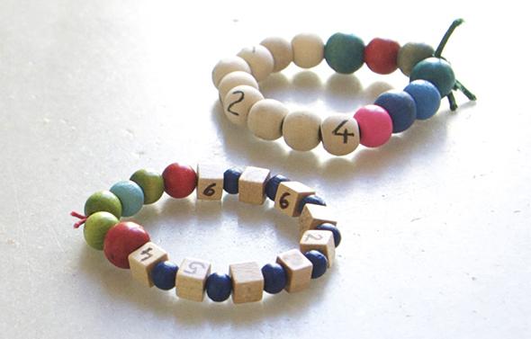 manualidad niño kid craft basteln kinder armband telefonnumer numero pulsera bracelet  mama