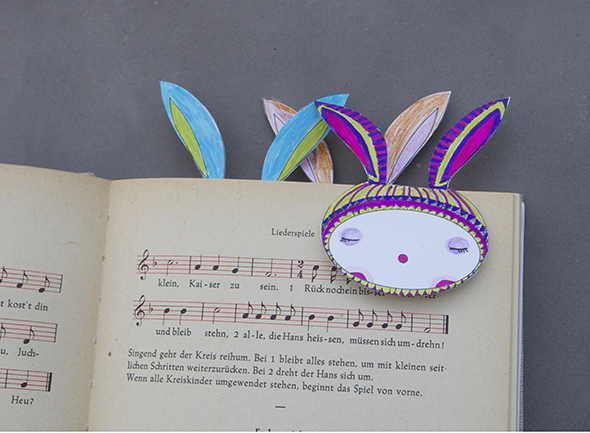 hasen lesezeichen bunny rabbit conejo bookmark marca paginas free printable download gratis kinder imprimir drucken copia