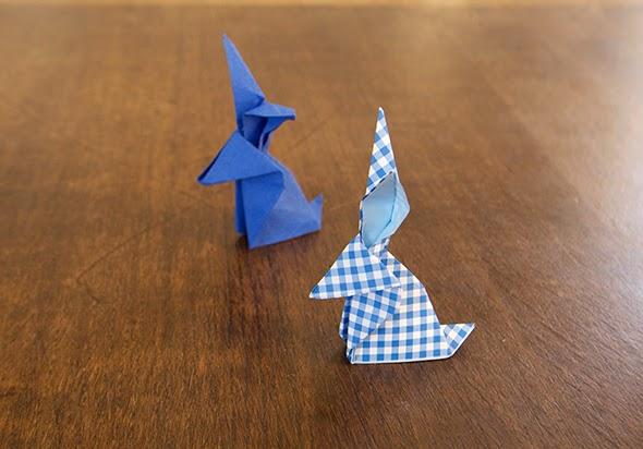 Origami conejo / bunny / Hase