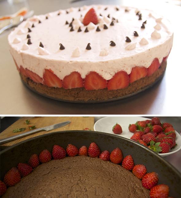tarta de fresa erdbeerkuchen strawberry cake