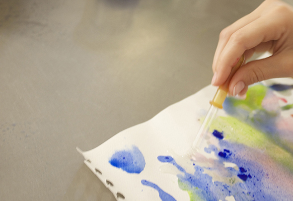 Colors and oil /Pintura y aceite /  Farben und Öl