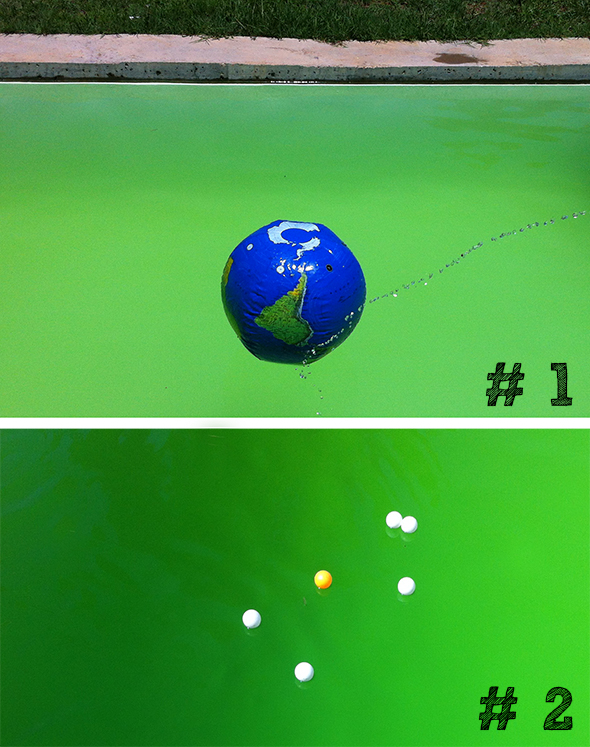 Juegos de piscina / Pool Games / Pool Spiele