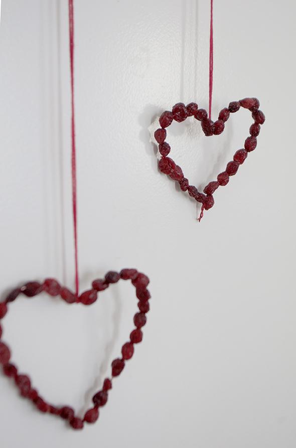 herzen draht getrocknete beeren alambre corazones bayas secas cadena hearts wire dried berries chain kids kinder pendant colgante kette anhänger