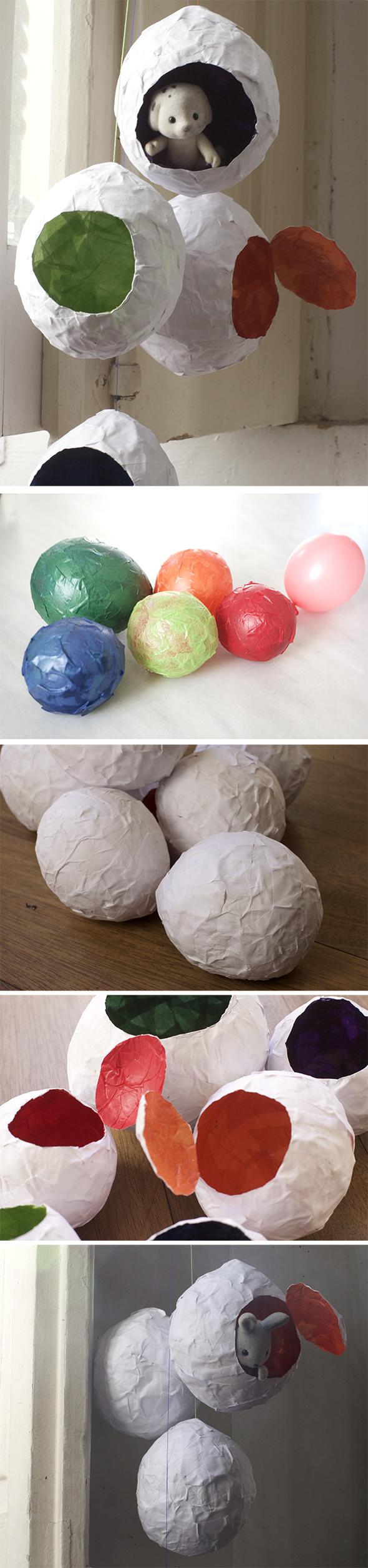 huevos eier eggs basteln maualidad craft diy deco deko easter pascua ostern kids niños kinder