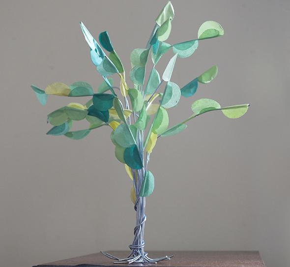puppenhaus miniatur baum tree  arbol spring primavera selber basteln kinder frühling kinder 1