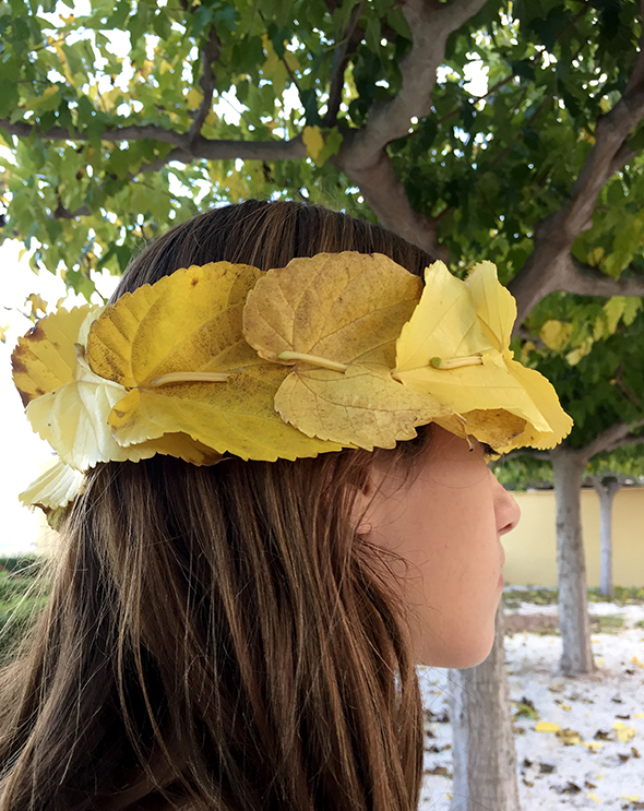 Leaves / Hojas / Blätter